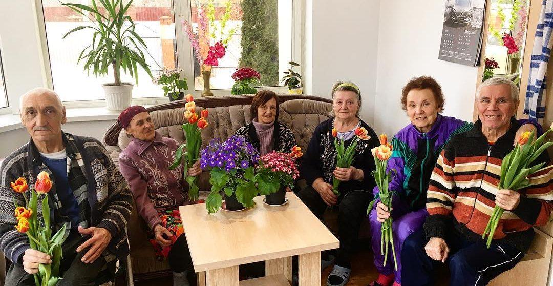 пенсионеры радуются
